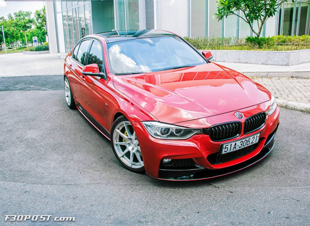 Red M Performance BMW F Pinterest Vietnam BMW And Cars - Bmw 328i red