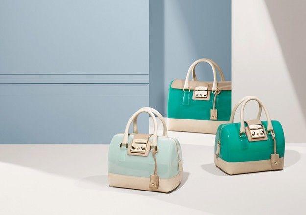 Furla collezione borse primavera/estate 2014 Bauletti in pelle e pvc - #bags #bag