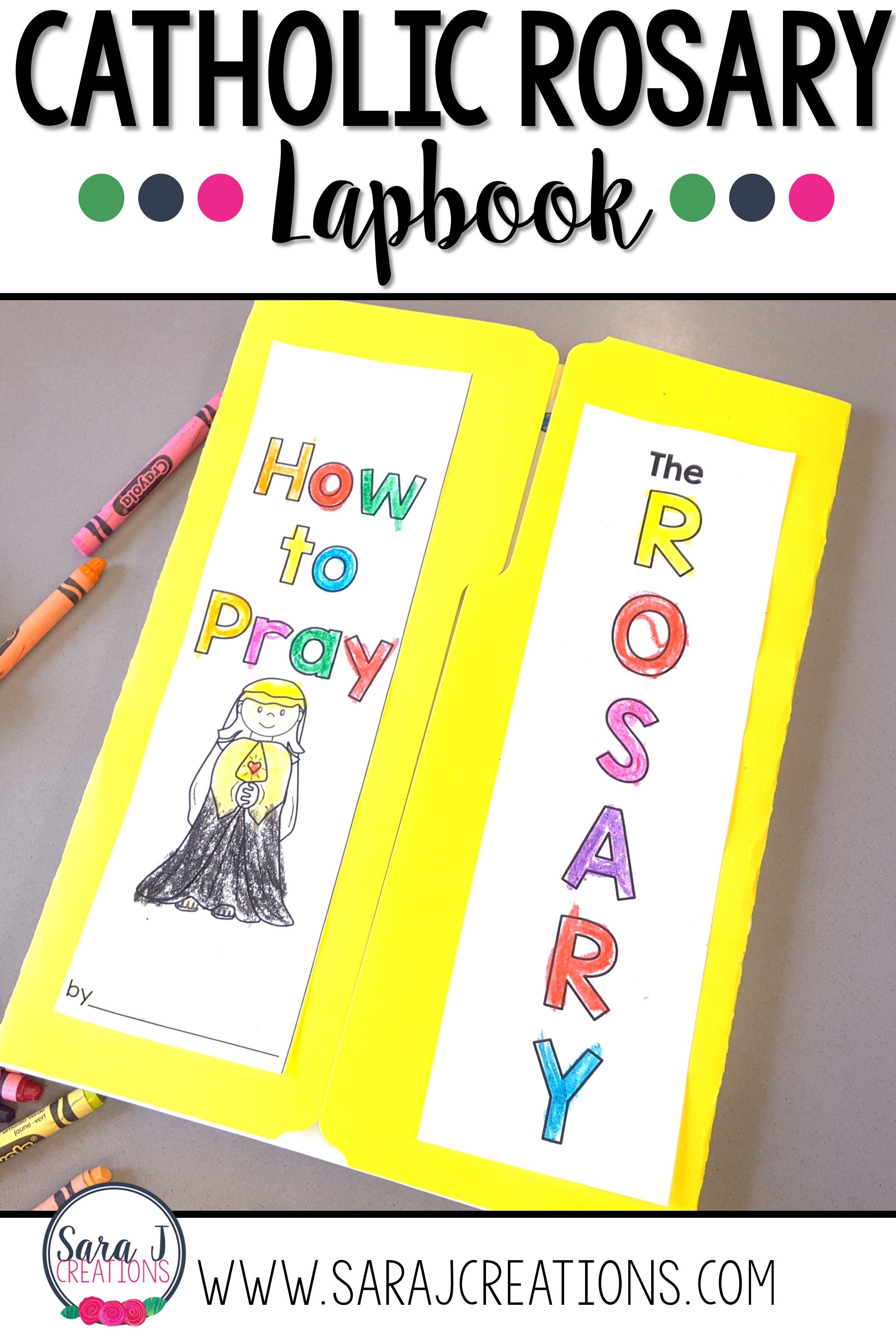 Catholic Rosary Lapbook