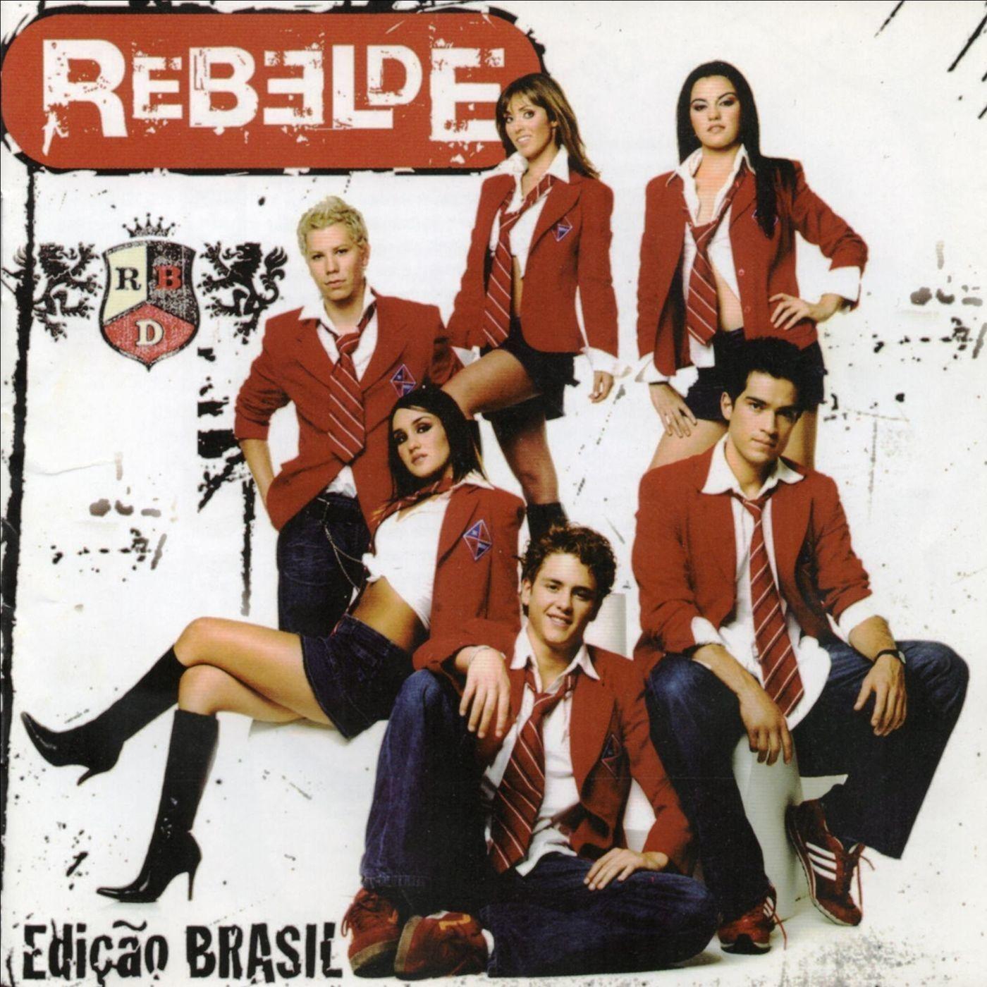 Rbd Album Edicao Brasil Com Imagens Rebelde Mexicano