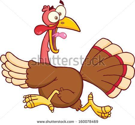 running away turkey clip art google search crafts pinterest rh pinterest com running turkey clip art free turkey running away clipart