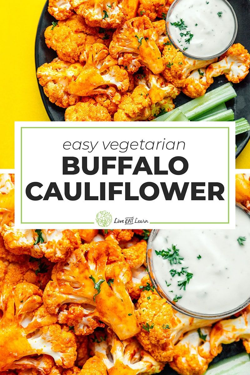 Air Fryer Buffalo Cauliflower Recipe Buffalo