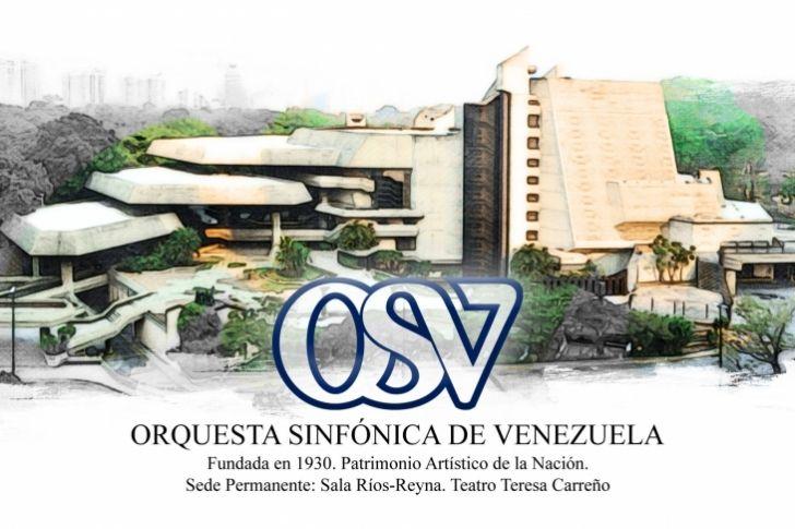 <p>La Orquesta Sinfónica de Venezuela, Patrimonio Artístico de la Nación, realizará un concierto, en el marco de la programación por los 87 años de su fundación, este viernes 7 de julio, en la Sala José Félix Ribas del Teatro Teresa Carreño, a las 5:00 pm.</p>