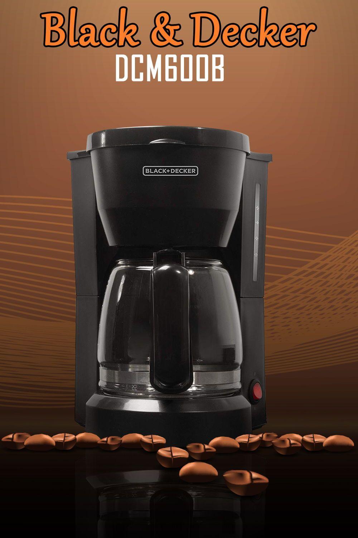 Black & Decker DCM600B Review Best coffee maker, Coffee