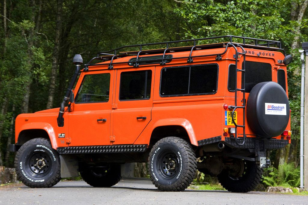 G4 Expedition Roof Rack Land Rover Defender Roof Rack Land Rover