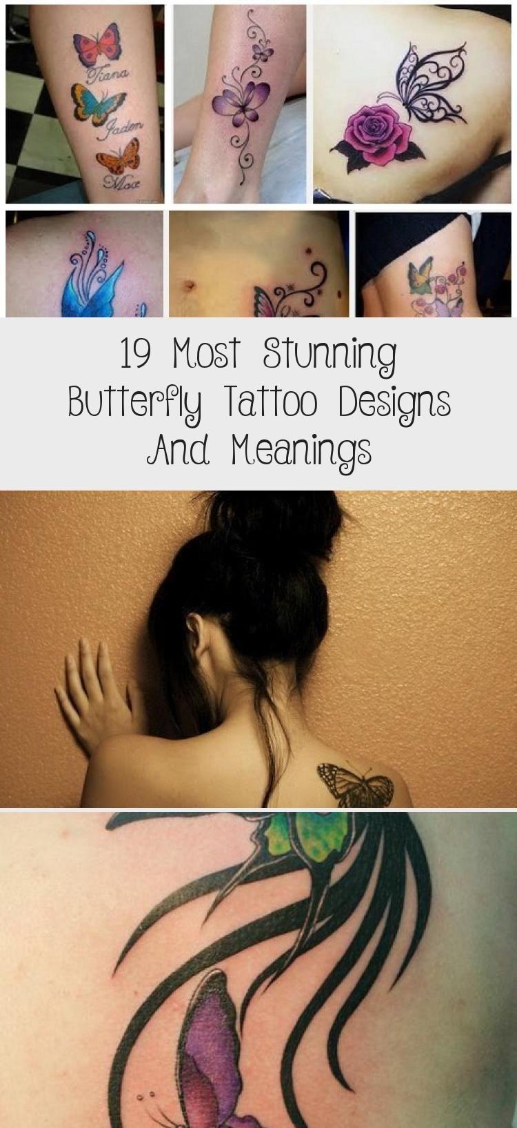 Photo of 19 plus belles conceptions et significations de tatouage de papillon – Conception