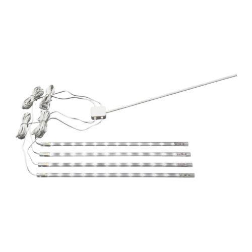 DIODER LED 4-piece light strip set, white organization Pinterest