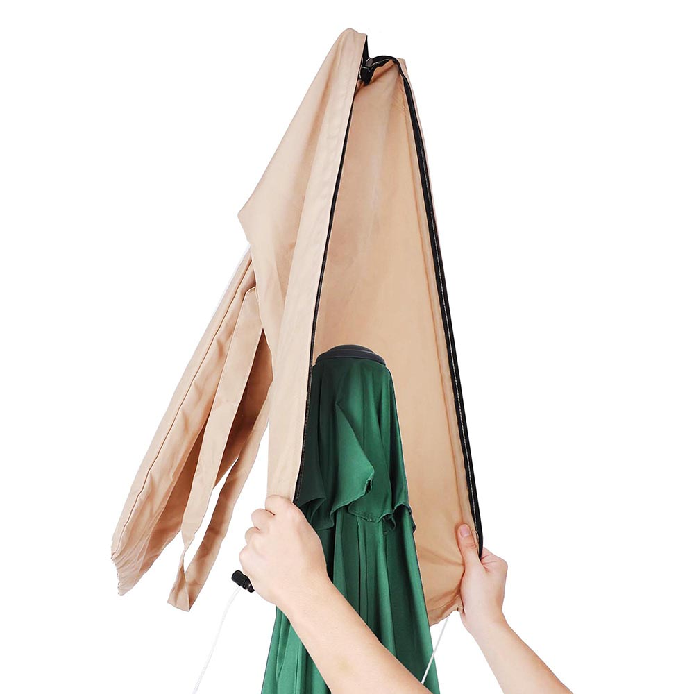Patio Outdoor Beach Umbrella Canopy Protective Cover Carry Bag Fit 8 9 10 13 In 2020 Umbrella Cover Patio Umbrella Covers Patio Umbrella Colors