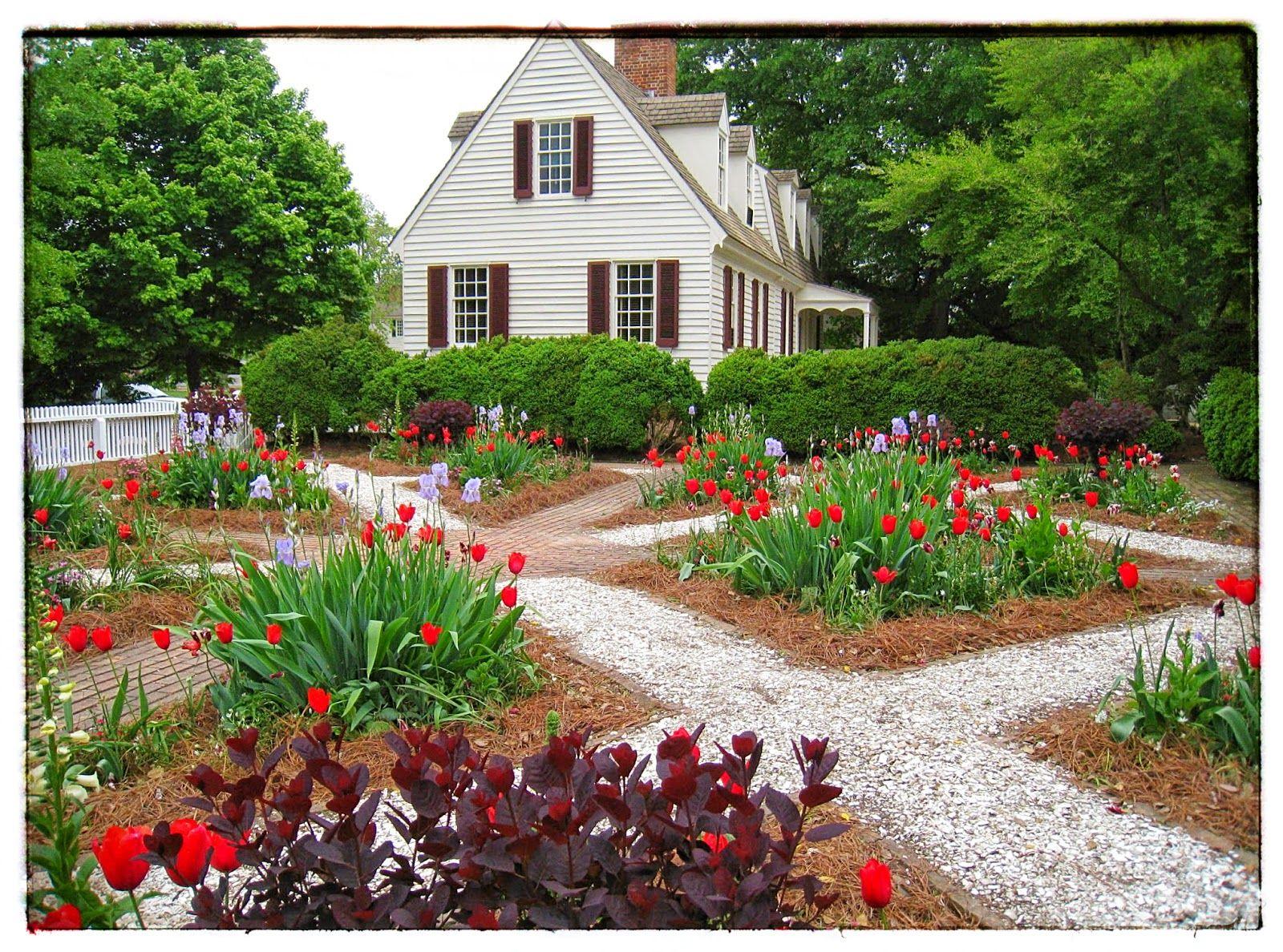 Perfect Garden In Colonial Williamsburg
