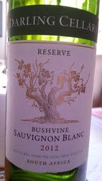 Darling Cellars Reserve Bushvine Sauvignon Blanc 2012