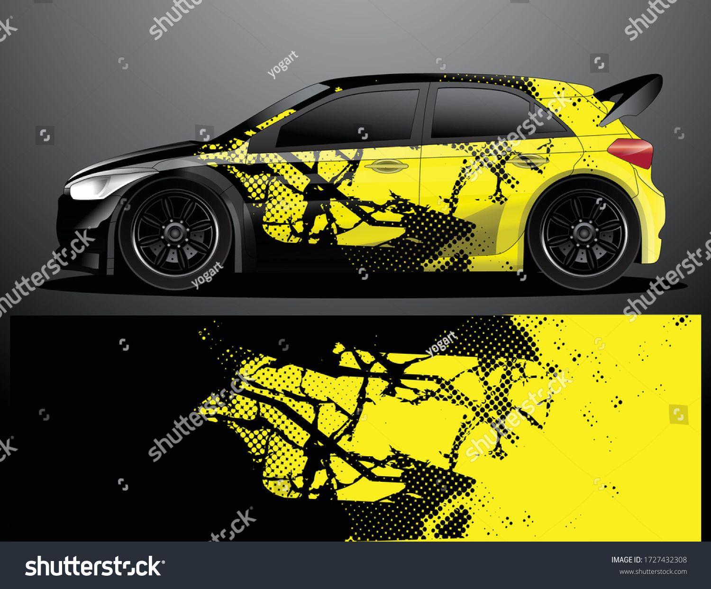 rally car decal grafik wrap vektor stock vektorgrafik lizenzfrei 1727432308 fahrzeugaufkleber bilder tanne freepik vektoren