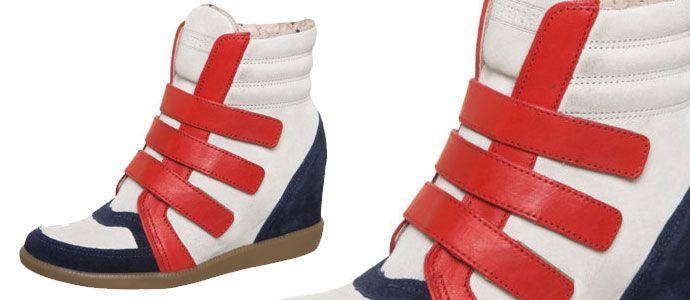 Verão 2013 chega com Sneakers com salto: http://blog.batecabeca.com.br/verao-2013-chega-com-sneakers-com-salto.html