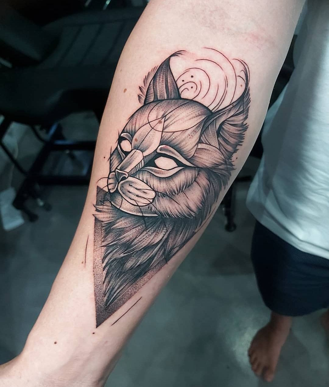 My First Tattoo Wild Cat Sketch Style Piece Done By Francelle Coetzee At True Blue Tattoo Studio In Pretoria South Africa In 2020 Blue Tattoo First Tattoo Tattoos