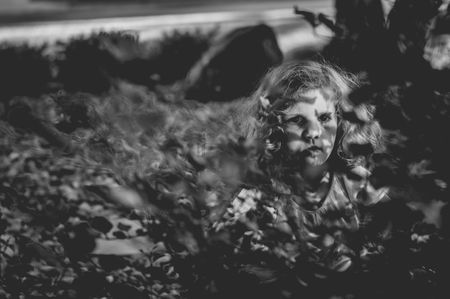 Playing Hide and Seek  Photo by Annie Otzen -- National Geographic Your Shot