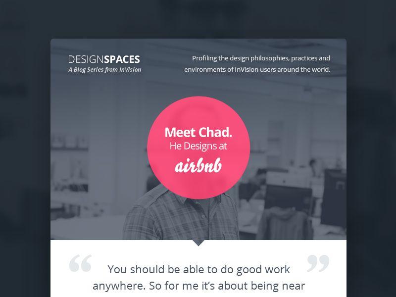 DesignSpaces Blog designs and Ui design