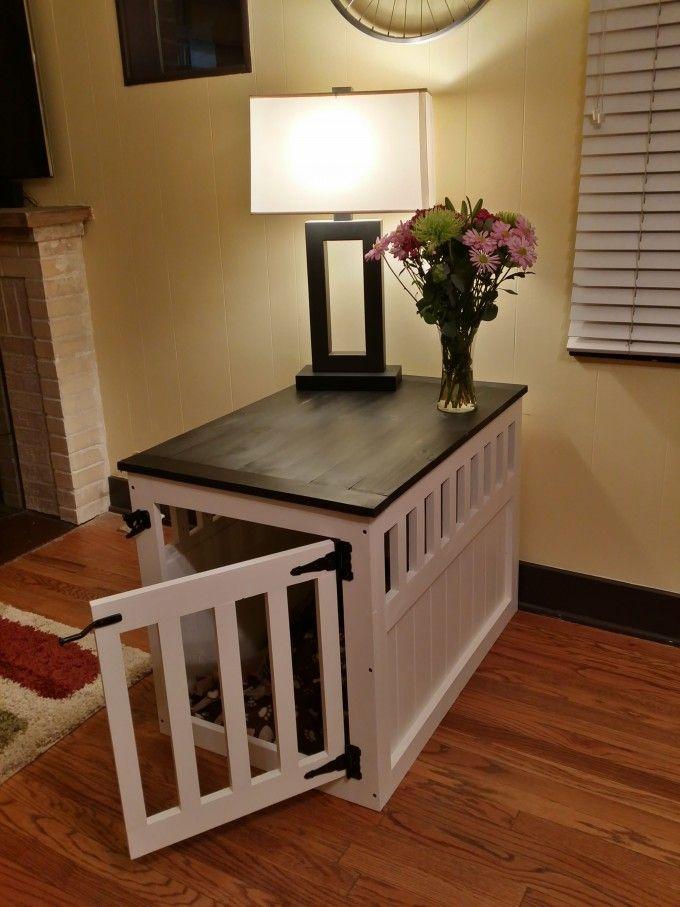 pet crate furniture. Pet Crate Furniture L