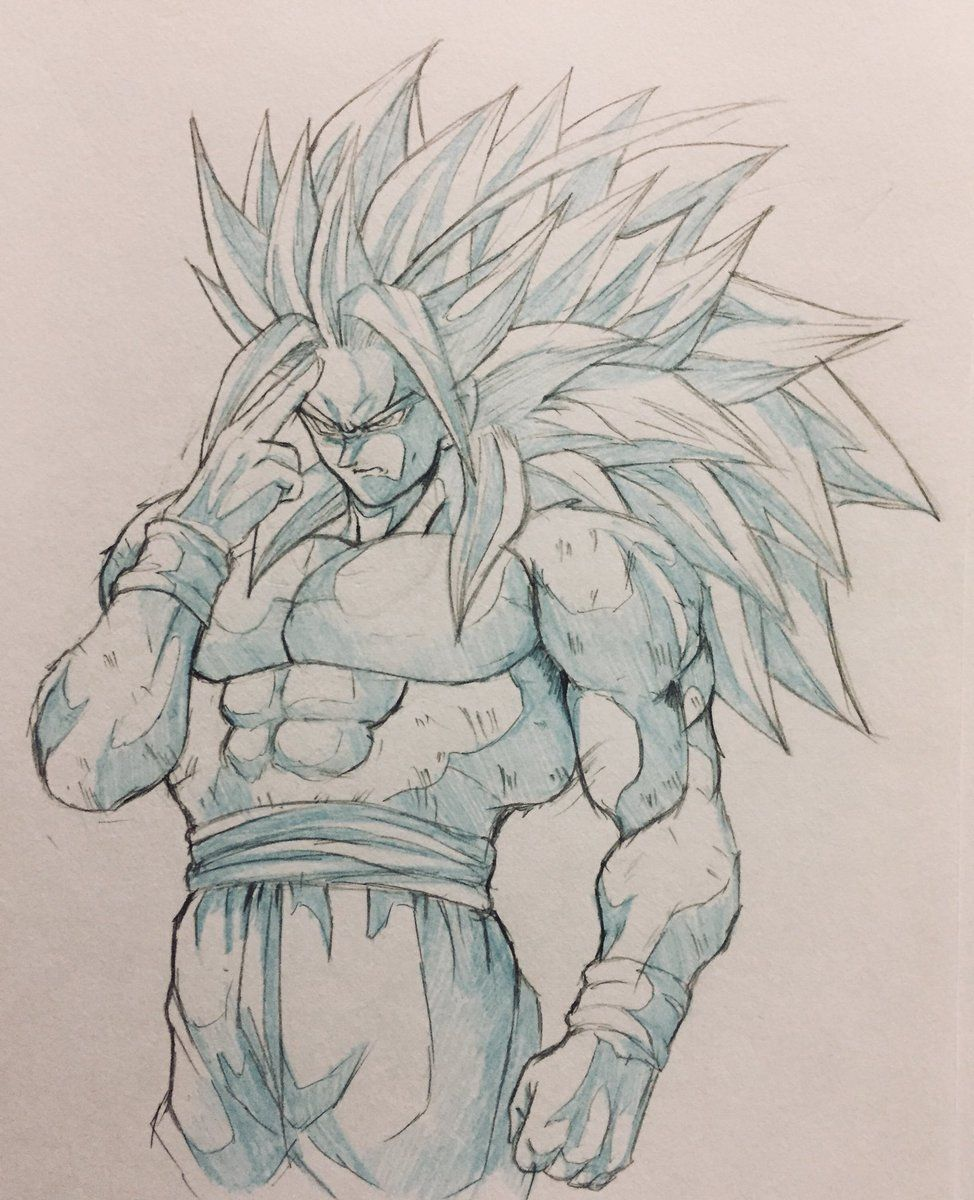 SSJ4 Goku | yo | Pinterest | Goku and Dragon ball