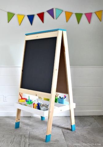 Repurposed Furniture For Kids Throughout Easel For Kids woodworkingforbeginners Woodworking For Beginners Pinterest Woodworking Repurposed Furniture And Furniture Makeover