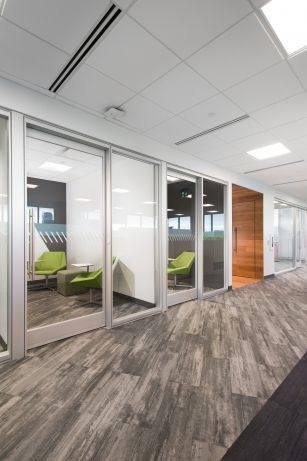 Interior design of the Vancouver offices of ACL flooring