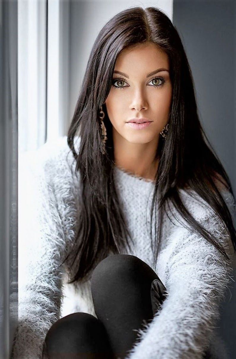 Hot norwegian amateur brunette milf