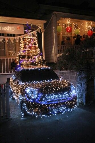 Light Up Christmas Car Hoseltonchristmas I M Dreaming