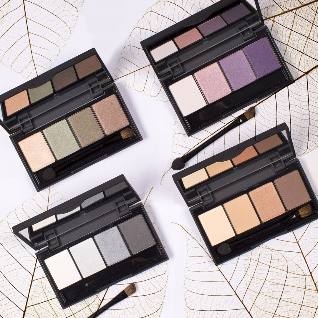 Warm Eyeshadow Palettes From Be Creative Make Up For Autumn