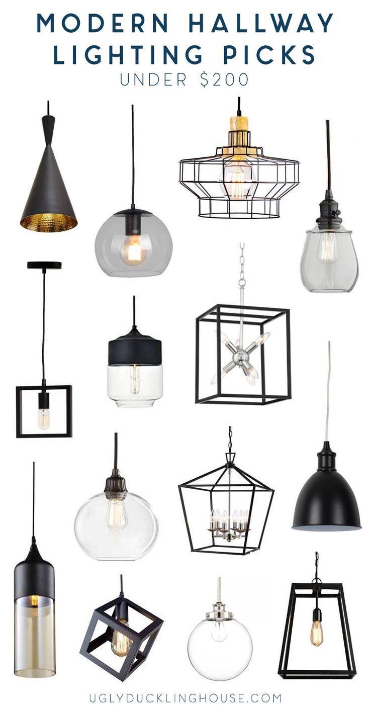 14 Modern Hallway Lighting Ideas Under 200 Modern
