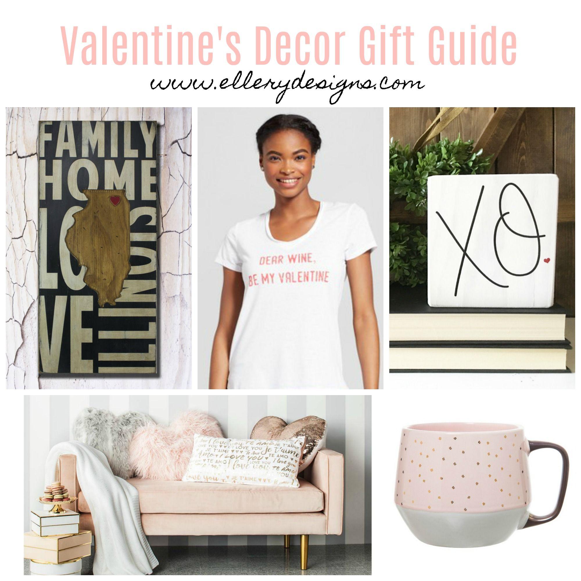 Valentine's Decor Gift Guide – Ellery Designs #giftidea #valentinesday #valentinesdecor #vday