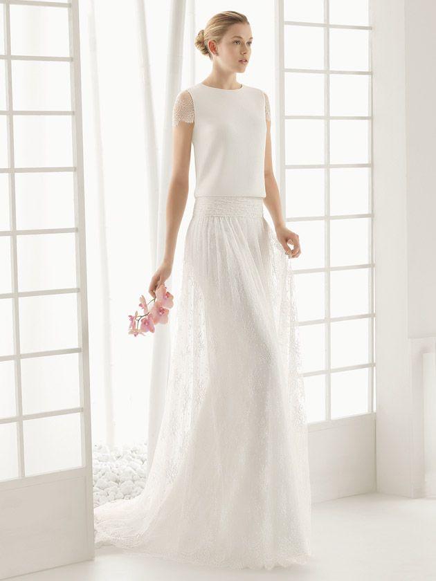 Zweiteilige Brautkleider | miss solution Brautkleider-Galerie ...