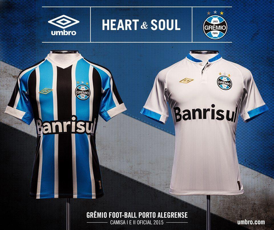 Novo uniforme Grêmio 2015 Camisa Gremio cfbb0f242bb53