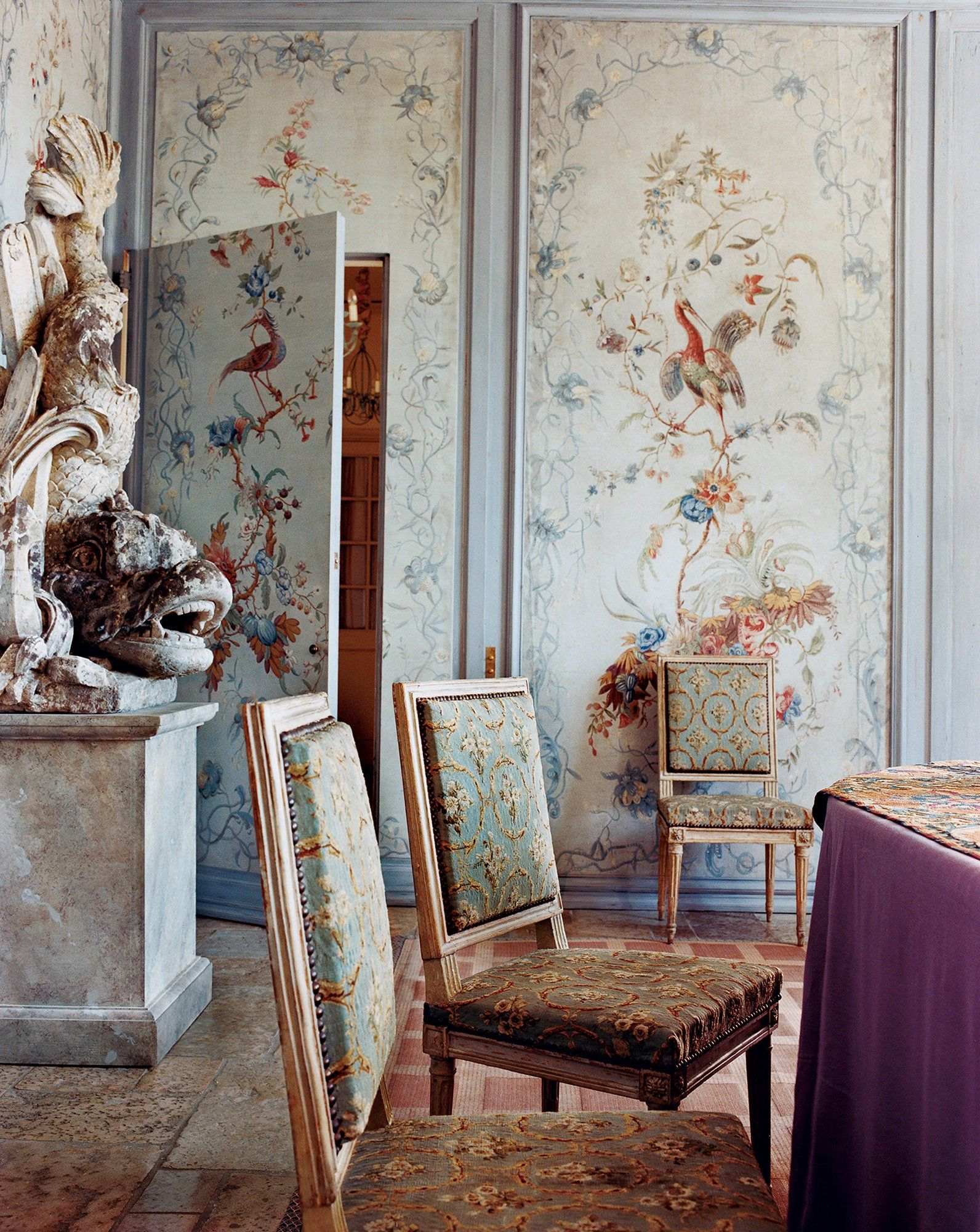 Esszimmer Louis Xv A Look At 30 Dining Rooms In Tapestry Room And Chinoiserie