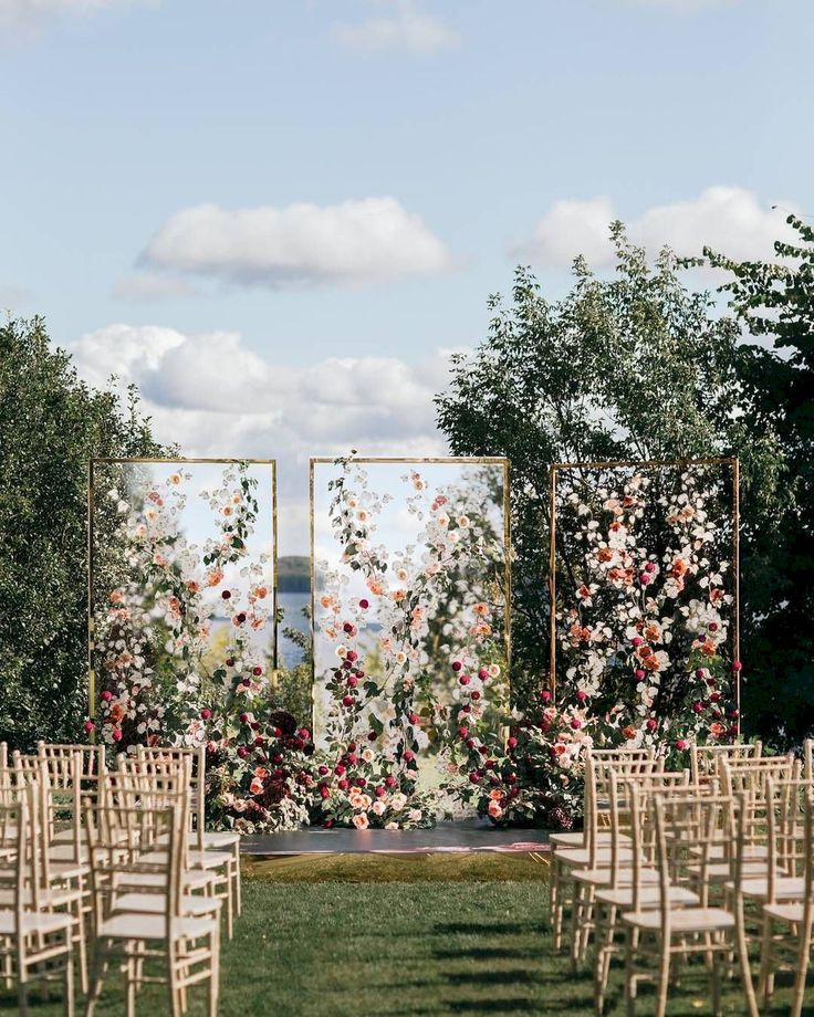 Create A Wedding Outdoor Ideas You Can Be Proud Of #ceremonyideas