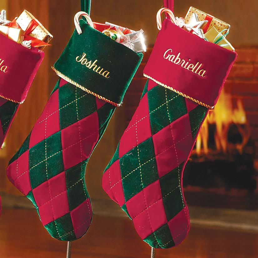 8581cd91e7c Finally found argyle stockings! Must get these for Christmas.