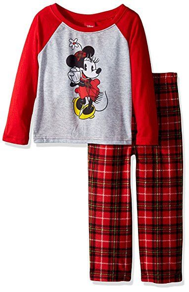 a49d554dd Mickey and Minnie Mouse Christmas Holiday Family Sleepwear Pajamas ...