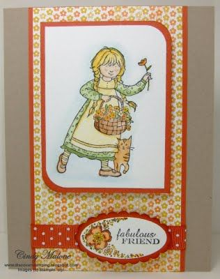 Water coloring #stampinup #fabulousfriend