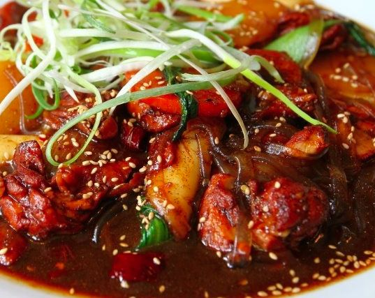 Andong chicken stew chicken and other poultry korean recipe andong chicken stew chicken and other poultry korean recipe korean food recipe forumfinder Image collections
