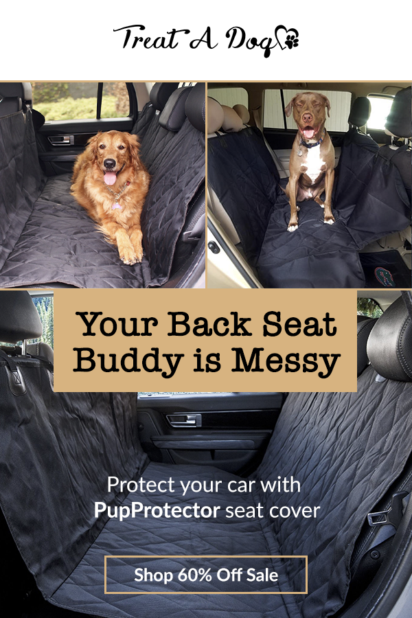 $47.00 - Waterproof, durable, and soft - Protect your car seats from dog hair, dirt, accidents and scratches with the PupProtector! This Back Seat Car Covers For Dogs is 54 inches by 58 inches, designed to universally fit any standard vehicle. For great pictures and information about pets, please click on the link, and like the page. Thank you.