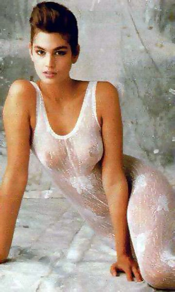 Criticising Cindy crawford naked thanks. agree
