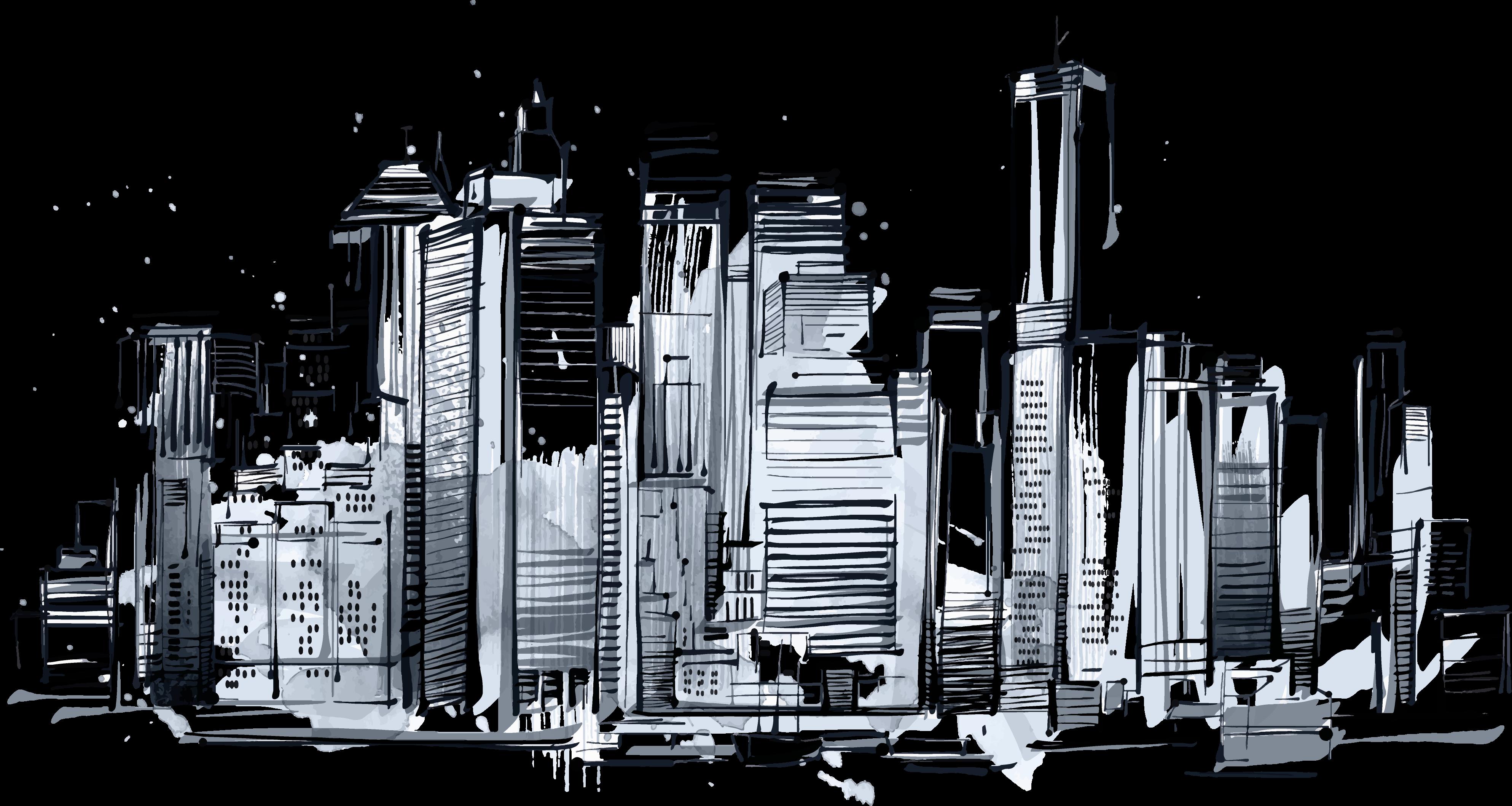 Skyline Drawing Skyscraper 193 Skyline Drawing Skyline Drawings