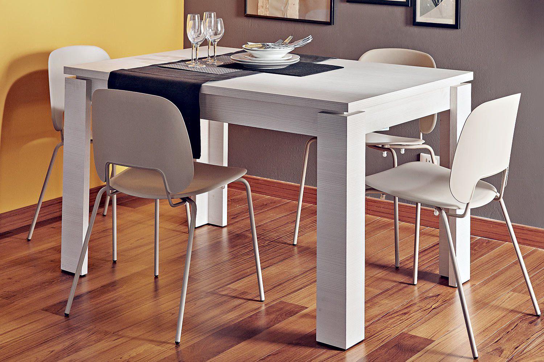 Tavoli Allungabili Ricci Casa.Tavolo Allungabile Civo Larice Bianco P 4131793 A Prezzo