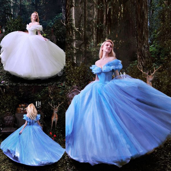 Cinderella Wedding Dresses 2015 Ball Gown Off The Shoulder Luxury Bridal Gowns Custom M Disney Wedding Dresses Wedding Dresses Cinderella Princess Wedding Gown