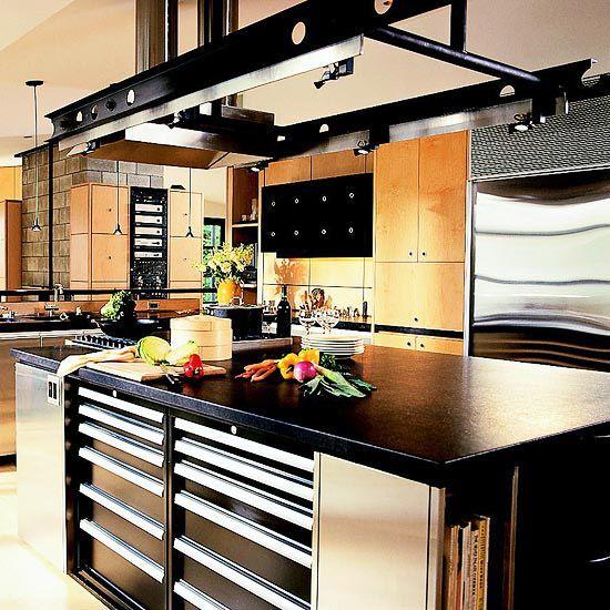 Kitchen Island Storage Ideas And Tips Kitchens Utensils