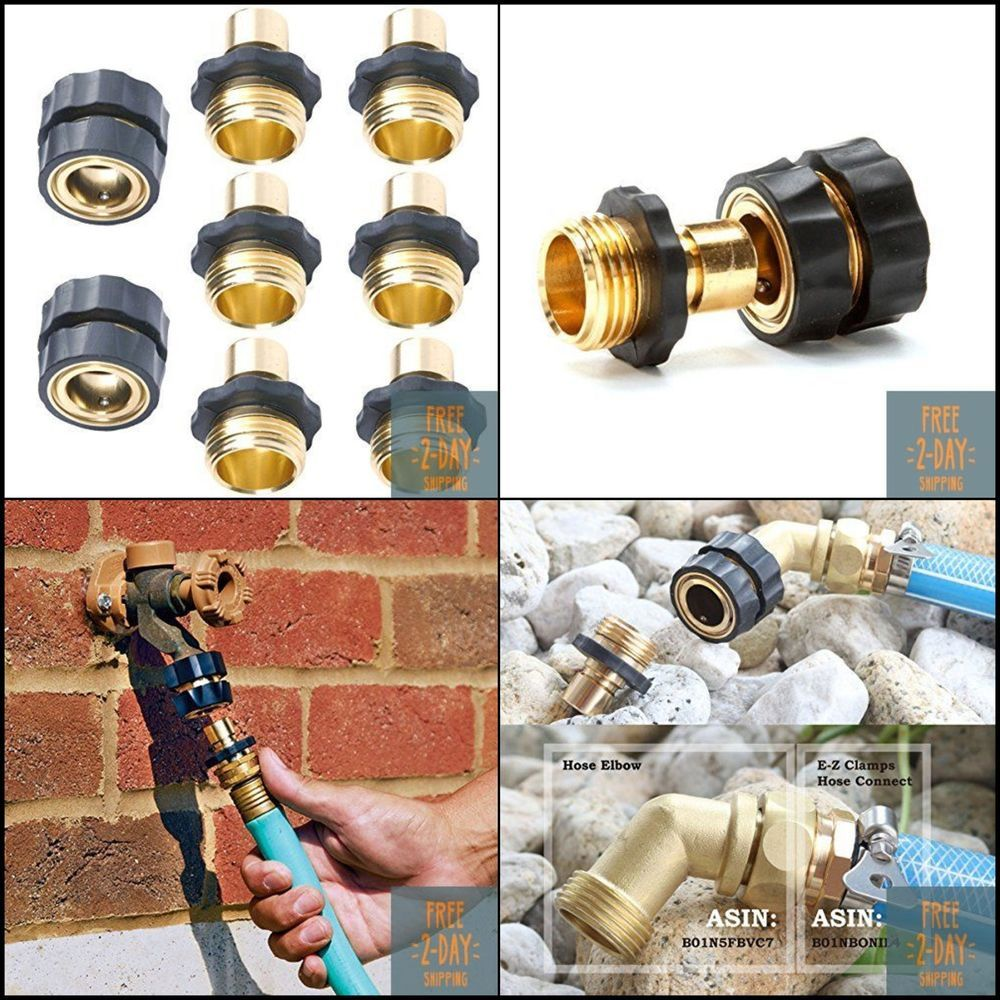 No Leak Garden Water Hose Quick Connect Set Pressure Washer Aluminum Connectors Plg Water Hose Water Garden Swimming Pool Accessories