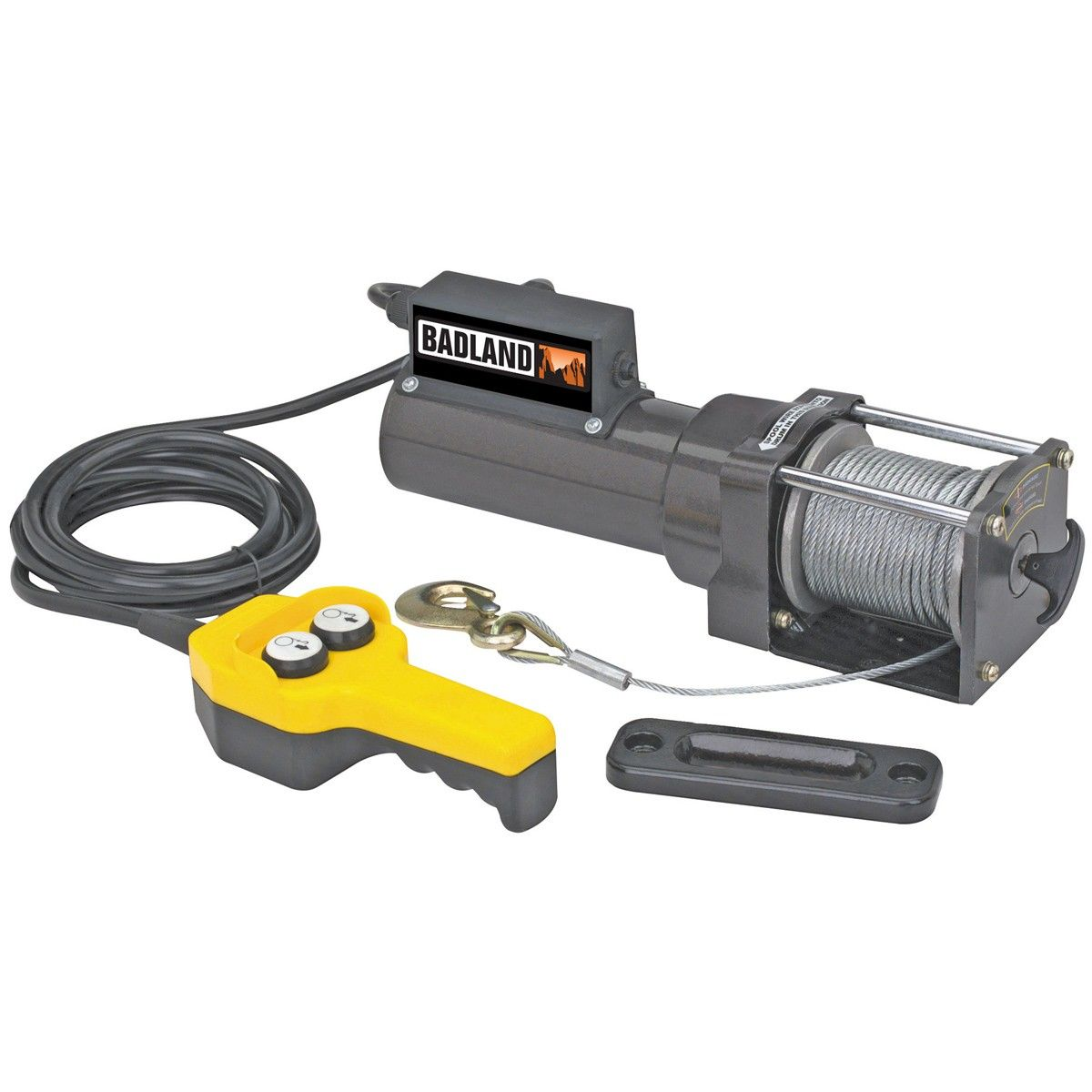 1500 Lbs  Capacity 120 Volt AC Electric Winch | Automotive