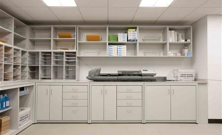 Mail Room Work Station Mailrooms Mail Centers Copy Stations Mail Sorters Office Furniture Layout Home Office Furniture Home Office Layouts