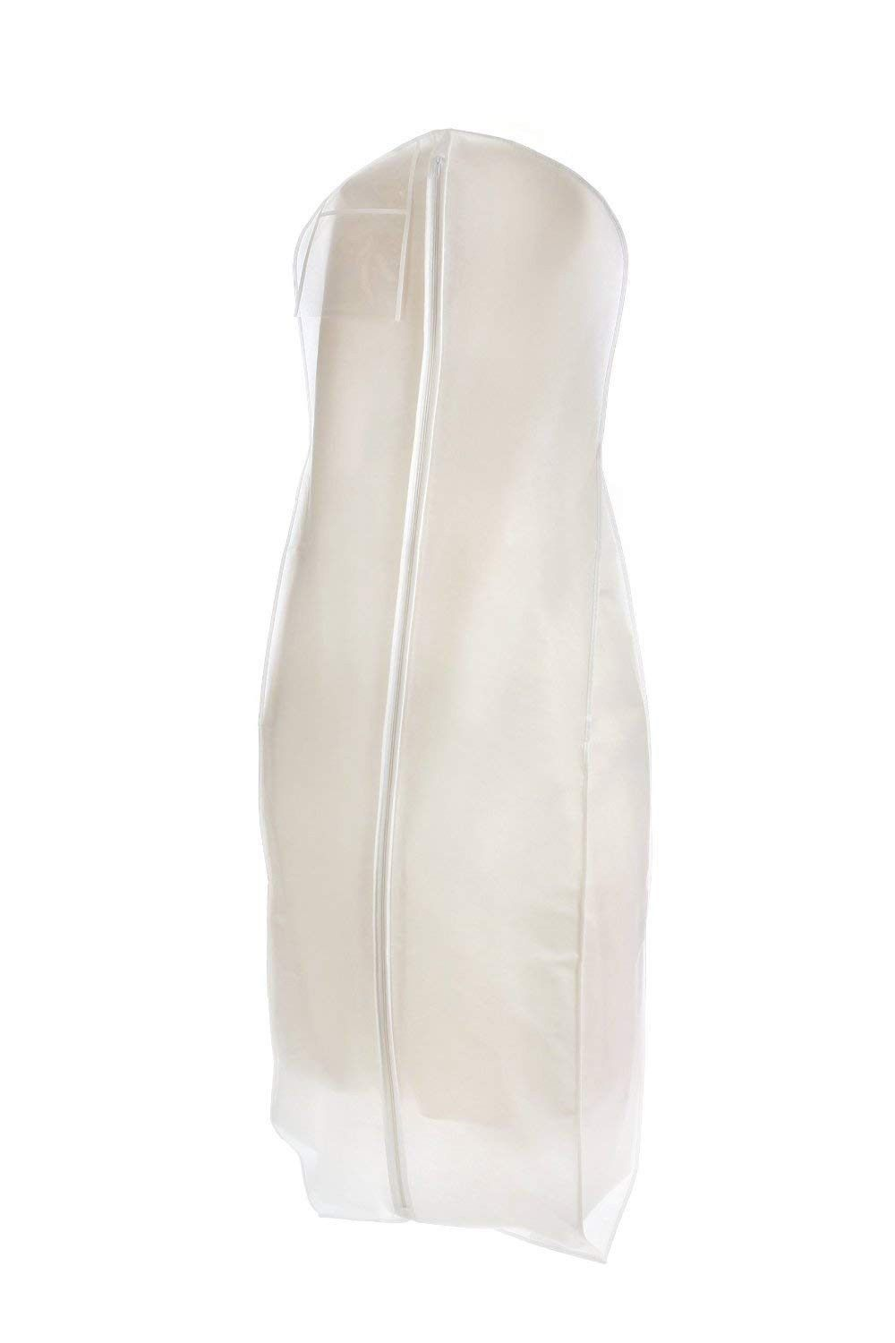 Also For Bridesmaid Gowns Durable Breathable White Wedding Gown Garment Bag