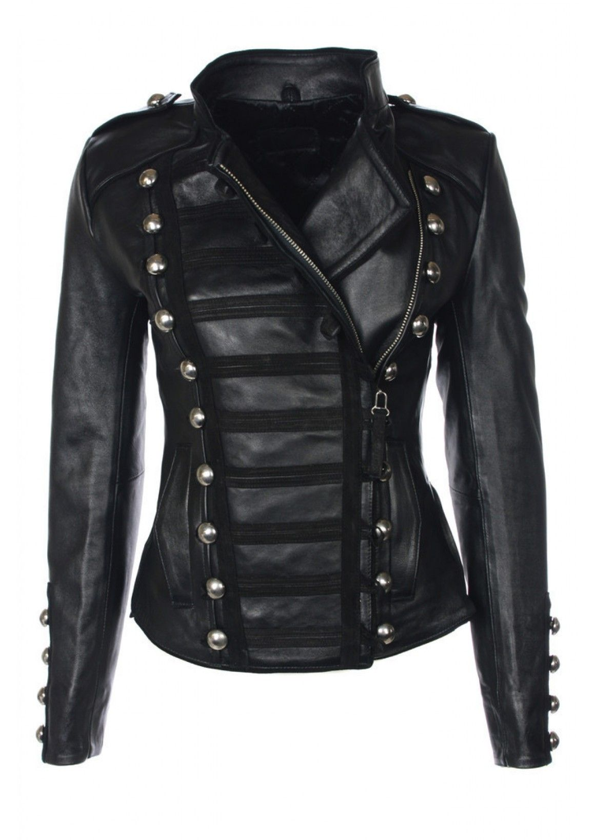 Napoleon Military Style Jackets, Military Jacket, Maxis, Faux Leather  Jackets, Military Fashion