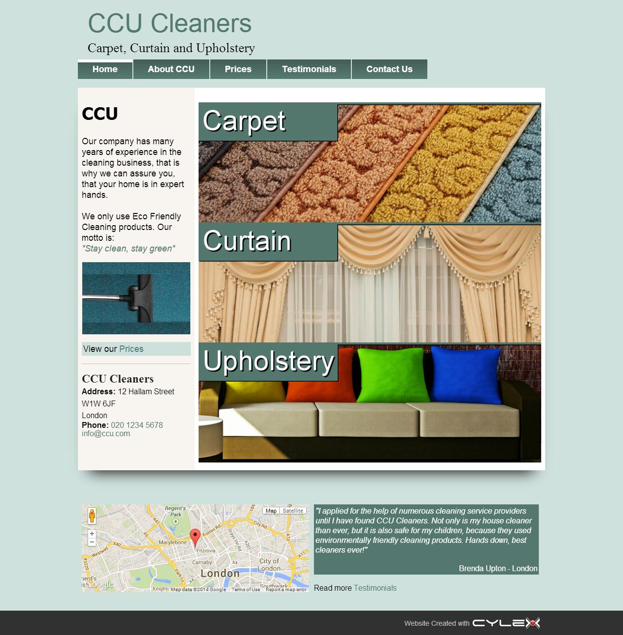 Carpet Cleaning Website Design | Cleaner Carpets | Pinterest ...