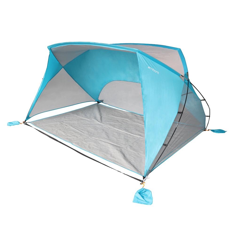 9x6 Sun Shelter Turquoise Blue Embark