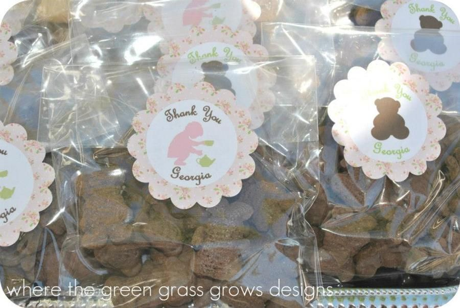 Teddy bear tea party favors | Teddy Bear tea inspiration | Pinterest ...